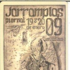 Coleccionismo Calendarios: CALENDARIO DE BOLSILLO - 2009 - AYUNTAMIENTO DE PIORNAL - FIESTA DEL JARRAMPLAS. Lote 195410568