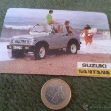 Coleccionismo Calendarios: CALENDARIO DE BOLSILLO DE PORTUGAL 1986 PUBLICIIDAD SUZUKI SANTANA COCHES MARCAS MADEIRA. Lote 44044137
