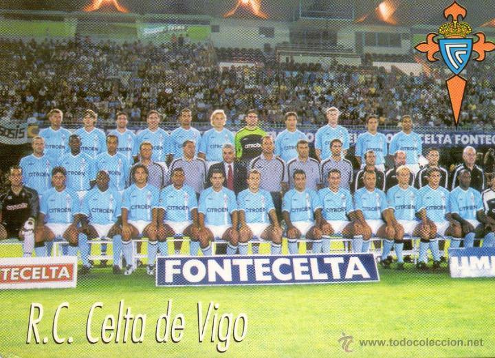 Calendario Celta Vigo.Calendario Del R C Celta De Vigo 2002