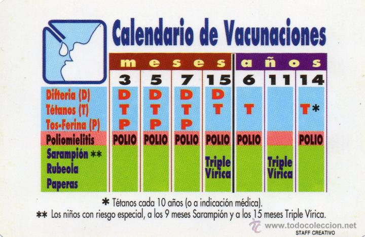 Calendario Vacunal Andalucia 2019.Calendario De Vacunaciones 1991 Junta De Andalu Vendido En Venta