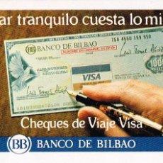 Coleccionismo Calendarios: CALENDARIO FOURNIER DEL BANCO DE BILBAO DE 1983. Lote 44161992