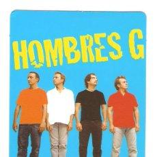Coleccionismo Calendarios: CALENDARIO DE BOLSILLO PUBLICITARIO AÑOS 2005 MÚSICA - CANTANTES - HOMBRES G. Lote 44163588