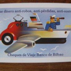 Coleccionismo Calendarios: CALENDARIO H.FOURNIER - CHEQUES BANCO BILBAO - 1981. Lote 44184730