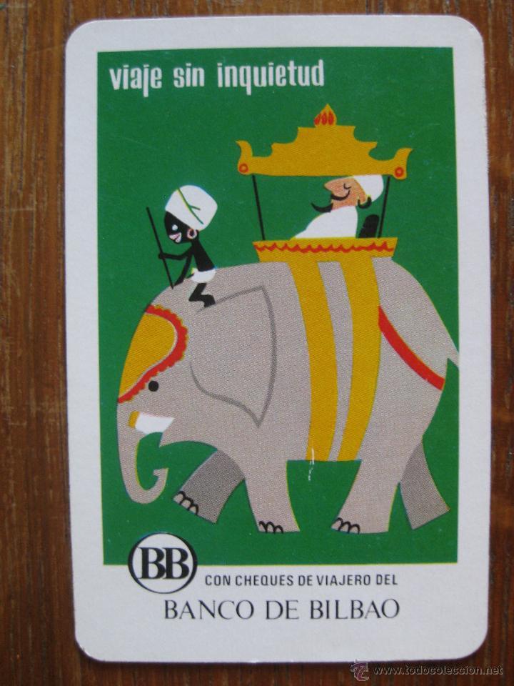 CALENDARIO H.FOURNIER - CHEQUES BANCO BILBAO- 1971 (Coleccionismo - Calendarios)