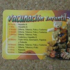 Coleccionismo Calendarios: CALENDARIO VACUNACION INFANTIL 2007 CAL-6045. Lote 44386431