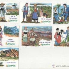 Coleccionismo Calendarios: 7 CALENDARIOS PUBLICITARIOS, 2005 ( ISLAS CANARIAS ) . Lote 44449572
