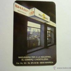 Coleccionismo Calendarios: CALENDARIO PUBLICIDAD MANRESA 1990. Lote 44647814