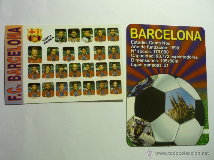 LOTE CALENDARIOS FUTBOL BARCELONA C.F.1998-2012 (Coleccionismo - Calendarios)