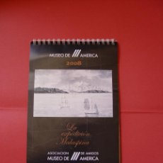 Coleccionismo Calendarios: CALENDARIO: EXPEDICIÓN MALASPINA (MUSEO AMÉRICA, 2008) ¡COMPLETO! ¡COLECCIONISTA!. Lote 44710757