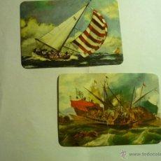Coleccionismo Calendarios: LOTE CALENDARIOS BARCOS -1976. Lote 44793398