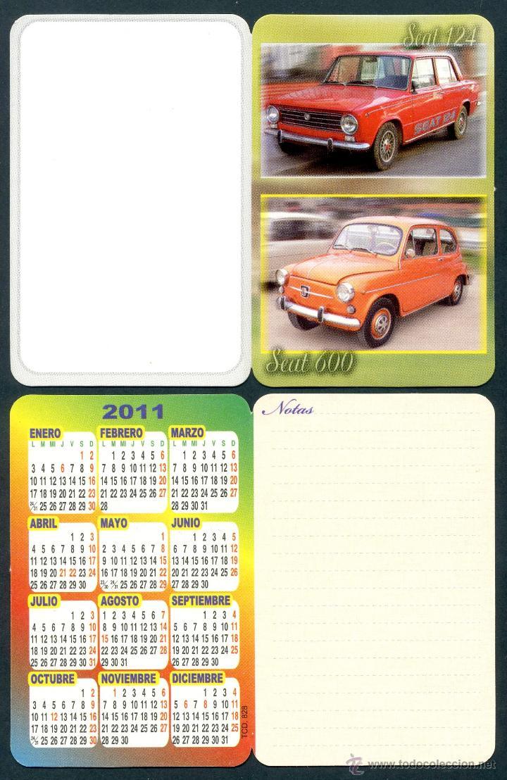 CALENDARIOS BOLSILLO 2011 TIPO TARJETA / AGENDA - EDITADO POR BO (Coleccionismo - Calendarios)