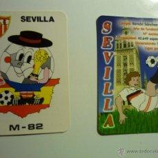 Coleccionismo Calendarios: LOTE CALENDARIOS FUTBOL SEVILLA .-2009-1982. Lote 44913854