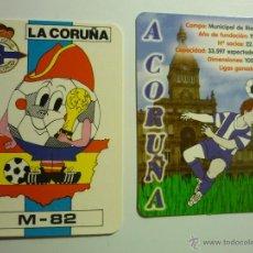 Coleccionismo Calendarios: LOTE CALENDARIOS FUTBOL DEPORTIVO LA CORUÑA 1982-2009. Lote 44913964