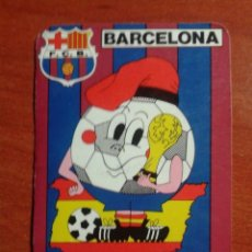 Coleccionismo Calendarios: CALENDARIO DE BOLSILLO MUNDIAL 82. FUTBOL CLUB BARCELONA - F.C.B.. Lote 45039325