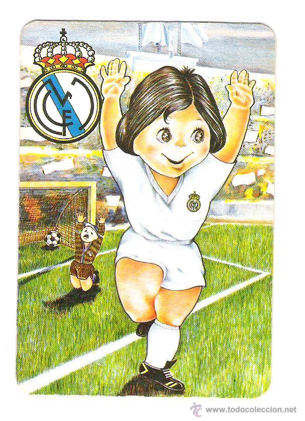 Calendario Real Madrid.Calendario Real Madrid 1984