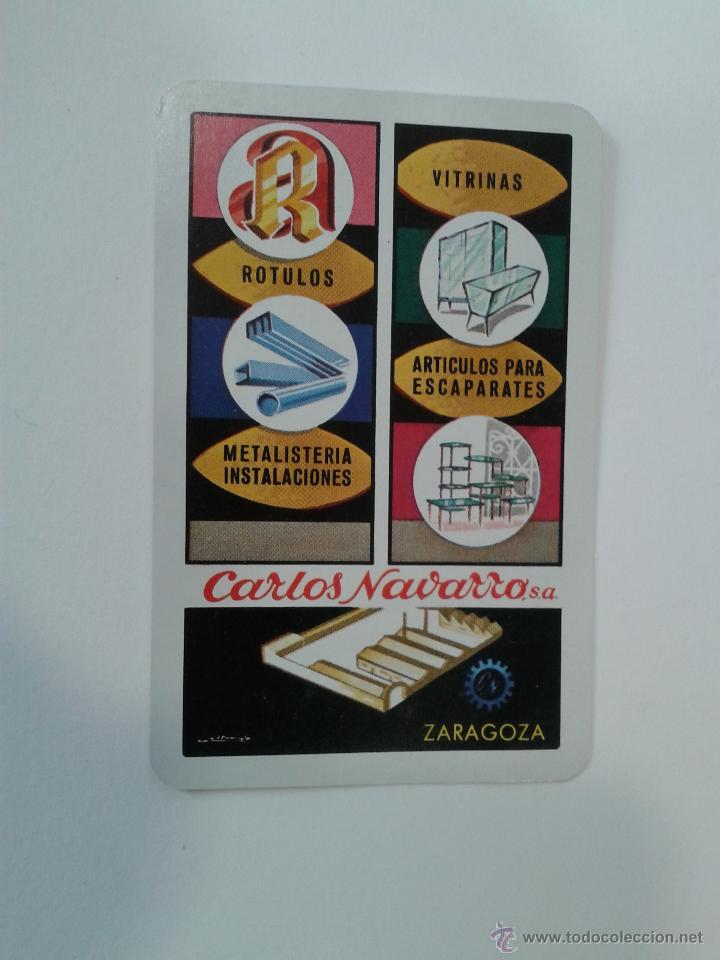 CALENDARIO FOURNIER CARLOS NAVARRO AÑO 1974 (Coleccionismo - Calendarios)