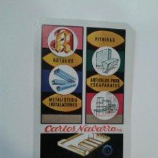 Coleccionismo Calendarios: CALENDARIO FOURNIER CARLOS NAVARRO AÑO 1974. Lote 45136189