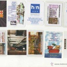 Coleccionismo Calendarios: LOTE 10 CALENDARIOS PUBLICITARIOS ( VARIADOS ). Lote 45146402