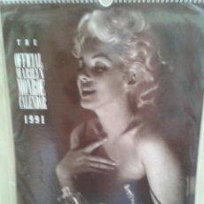 Coleccionismo Calendarios: MARILYN MONROE 1991 ,(SIN ABRIR) EXTRANJERO.(OFERTA A MITAD DE PRECIO). Lote 45173235