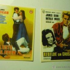 Coleccionismo Calendarios: LOTE CALENDARIOS CINE -- PELICULAS JAMES DEAN 2006-2008. Lote 45263658