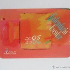 Coleccionismo Calendarios: CALENDARIO CALENDARIO ESCOLAR 2005. Lote 45289452