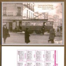 Calendarios Bolsillo - TRANVIA / LINARES 2012