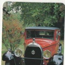 Coleccionismo Calendarios: CALENDARIO TEMA COCHES 2002. Lote 45395345