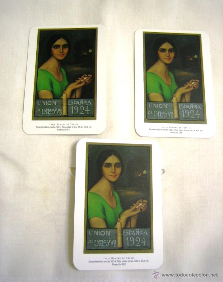 3 CALENDARIOS BOLSILLO UEE. JULIO ROMERO DE TORRES- 2006 (Coleccionismo - Calendarios)