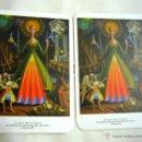Coleccionismo Calendarios: 2 CALENDARIOS BOLSILLO UEE- 2005- SIGFRIDO MARTÍN BEGUÉ. Lote 45440799