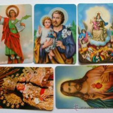 Coleccionismo Calendarios: LOTE DE 5 CALENDARIOS RELIGIOSOS 1999-2000. Lote 45478187