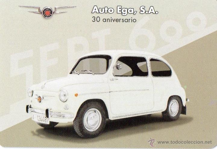 Calendario Auto.Calendario Auto Ega Ano 2010 Seat 600