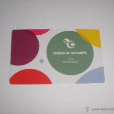 Coleccionismo Calendarios: CALENDARIO 2009 - LOTO CATALUNYA. LOTERIAS. Lote 45771279