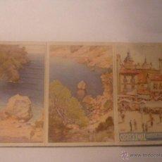 Coleccionismo Calendarios: CEREGUMIL. CALENDARIO AÑO 1934. TRÍPTICO. EN CARTÓN. Lote 45848959