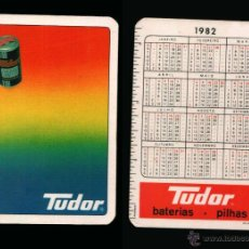 Coleccionismo Calendarios: CALENDARIO BOLSILLO - SERIE PUBLICIDAD - PUBLICADO EN PORTUGAL - AÑO:1982 - TUDOR. Lote 45883860