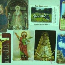 Coleccionismo Calendarios: LOTE DE 8 CALENDARIOS DISTINTOS - RELIGIÓN RELIGIOSOS. Lote 46135275