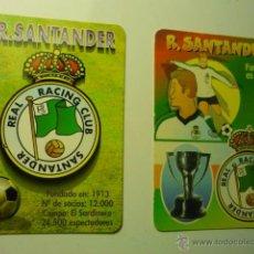 Coleccionismo Calendarios: LOTE CALENDARIOS FUTBOL RACING SANTANDER 1998-2000. Lote 46139604
