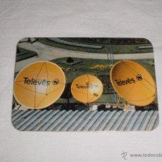 Coleccionismo Calendarios: CALENDARIO PORTUGAL 1986 - TELEVES. Lote 46196890