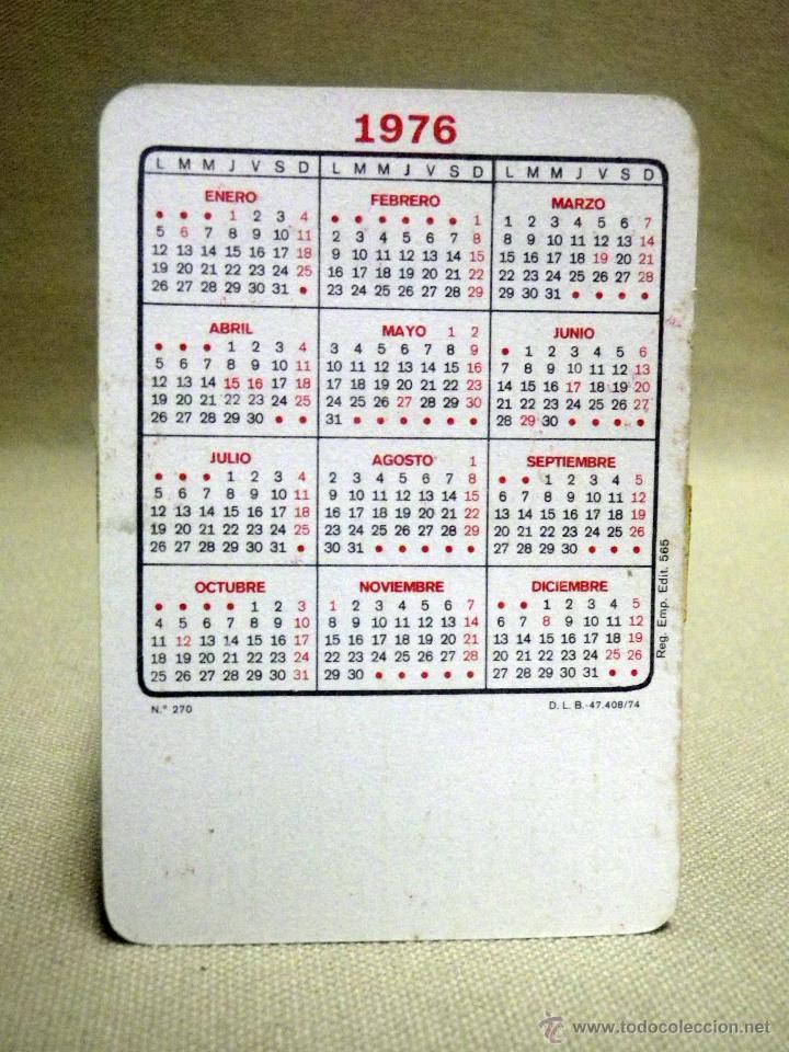 Calendario De 1976 Completo.Lote 12 Calendarios Calendario 1976 Horoscopo Signos Zodiaco Sin Publicidad Completo