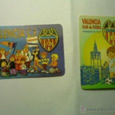 Coleccionismo Calendarios: CALENDARIOS BOLSILLO FUTBOL VALENCIA CF 2003-1996. Lote 46523652