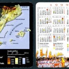 Coleccionismo Calendarios - Calendarios Bolsillo - GENERALITAT DE CATALUNYA 1999 - 46615268