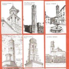 Coleccionismo Calendarios: 18 CALENDARIOS DE BOLSILLO AÑO 2002 DIBUJOS A PLUMILLA DE ZARAGOZA (SERIE COMPLETA). Lote 46650760