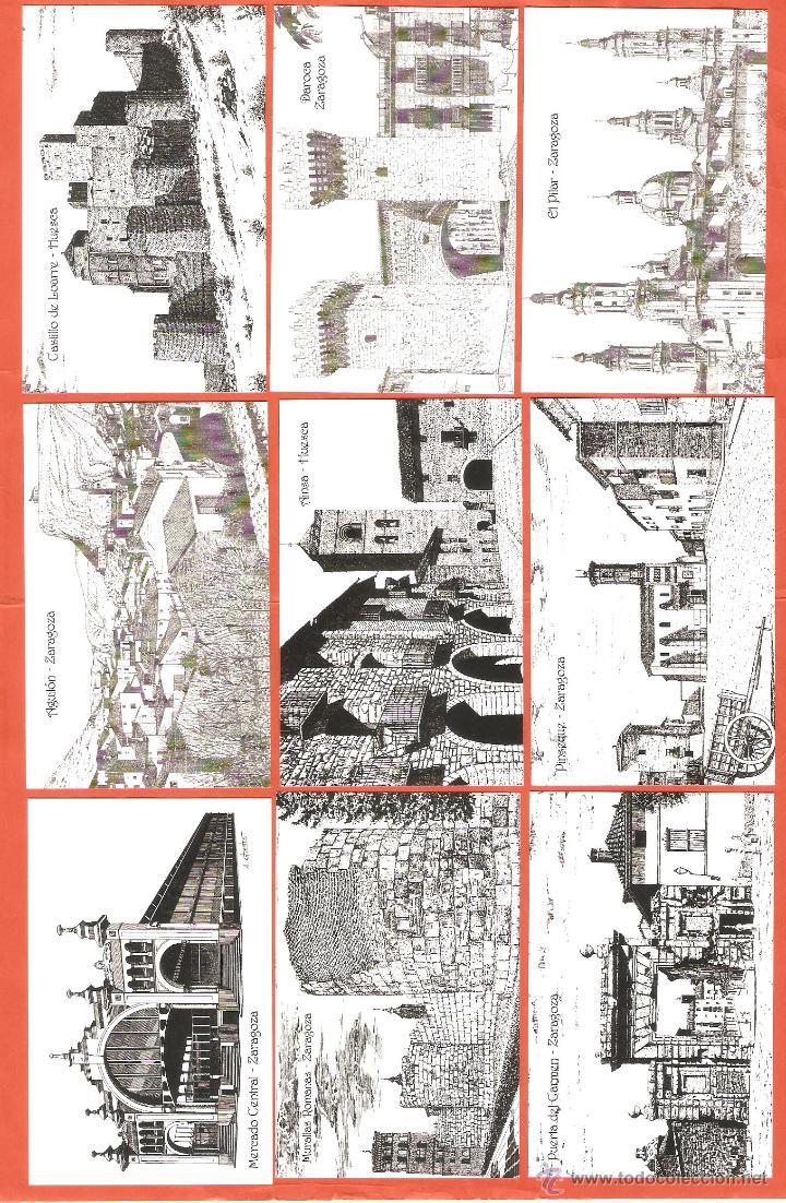 Coleccionismo Calendarios: 18 CALENDARIOS DE BOLSILLO AÑO 2002 DIBUJOS A PLUMILLA DE ZARAGOZA (SERIE COMPLETA) - Foto 2 - 46650760