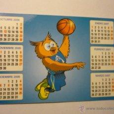 Coleccionismo Calendarios: CALENDARIO BALONCESTO 2006 PERFUMERIAS AVENIDA-. Lote 46701079