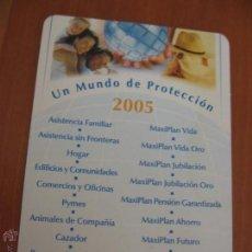 Coleccionismo Calendarios: CALENDARIO SANTALUCÍA 2005. Lote 46727547