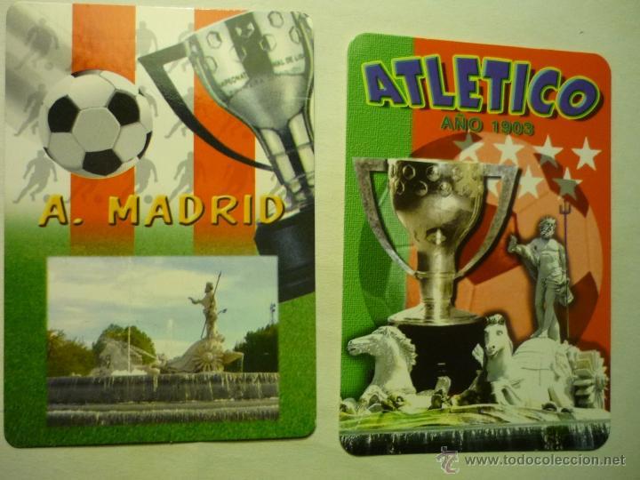 LOTE CALENDARIOS AT,MADRID 2009-2010 (Coleccionismo - Calendarios)