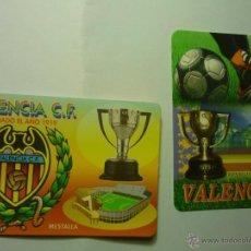 Coleccionismo Calendarios: LOTE CALENDARIOS FUTBOL VALENCIA 2003-2012. Lote 47027681