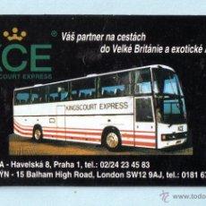 Coleccionismo Calendarios: CALENDARIO EXTRANJERO DE AUTOCAR DEL AÑO 1998 SIN PUBLICIDAD. Lote 47571969