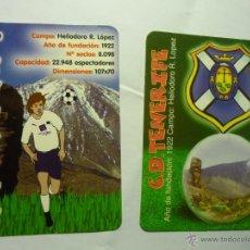 Coleccionismo Calendarios: LOTE CALENDARIOS FUTBOL TENERIFE CD 2003-2009. Lote 47162314