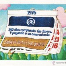 Coleccionismo Calendarios: CALENDARIO FOURNIER 1976 BANCO BILBAO. Lote 47262136