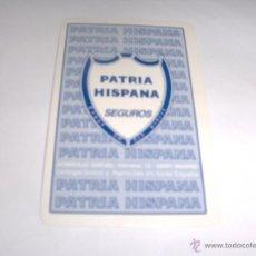 Coleccionismo Calendarios: CALENDARIO FOURNIER - PATRIA HISPANA - 1999. Lote 194974050